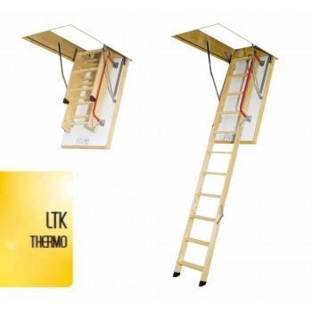 Утепленные чердачные лестницы Fakro LTK