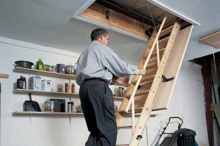 Творимо самостійно горищні сходи